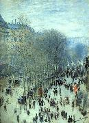 Claude Monet Boulevard des Capucines oil painting reproduction